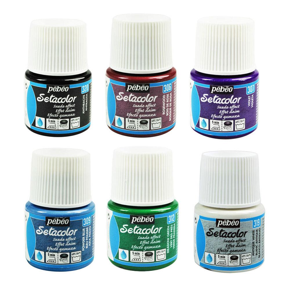 Купить краску по ткани pebeo с эффектом замши про нитки пряжа