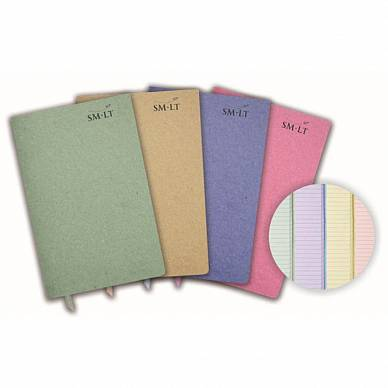 Блокнот SMLT Stitched Notebook для записей (A6, 26л, 80г/м)