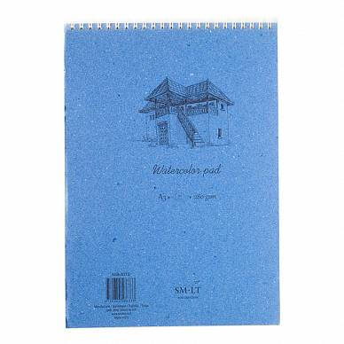 Альбом SMLT Watercolor Pad для акварели (A3, 30л, 280 г/м, на спирали)